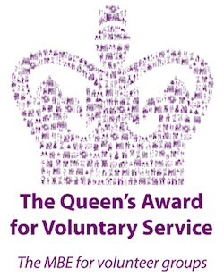 Queens Award for Voluntary Service 2016