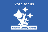 Vote for us in the National Lottery Awards