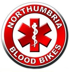 Please support Northumbria Blood Bikes
